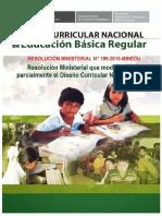 DCN Resolución Ministerial N° 199-2015