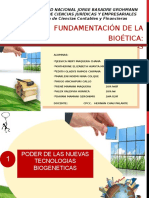 Fundamentacion de La Biogenetica