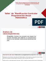 1.Programacion Anual Matemática