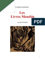 Bergier Jacques - Les livres maudits.pdf