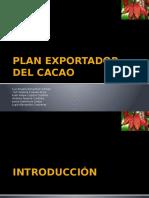 Plan Exportador Del Cacao