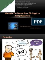 Manejo de Desechos Biológicos Hospitalarios