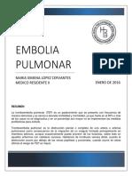 revision embolia