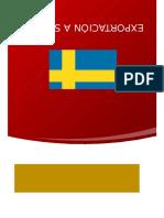 Exportación a Suecia1