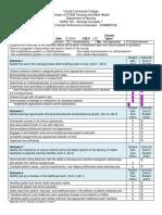 summative evaluation first term ltc