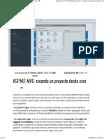 ASP_Net_MVC_creando Un Proyecto Desde Cero