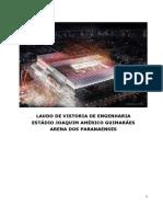 Laudo de Vistoria de Engenharia Estádio Joaquim Américo Guimarães PR 05.2014