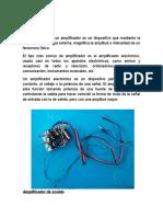 Informe de Tenologia Amplificador Termidado