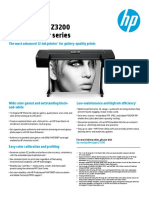 HP Designjet Z3200 Data Sheet