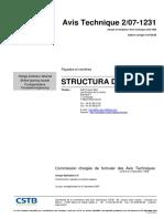Facades Verrieres Avis Technique Structura Duo 2-07-1231