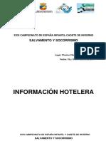 HOTELES - Cto. España Infantil Cadete Invierno, Don Benito
