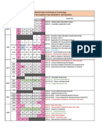Academic Calendar b31.3