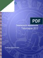 Caracterización-Totonicapán 2013