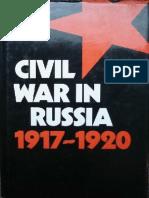 Civil War in Russia 1917-1920