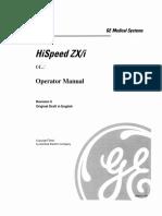HiSpeed ZXi Operator Manual