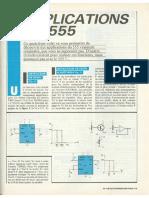 Applications Du 555