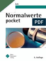 [B. Bruckm.] Jakob, Normalwerte Pocket (2004)