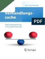 [Spr.] Tewes, Verhandlungssache; Verhandlungsführung in Gesundheitsberufen (2011)