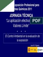Jornada 2011 JV Juan Viguera