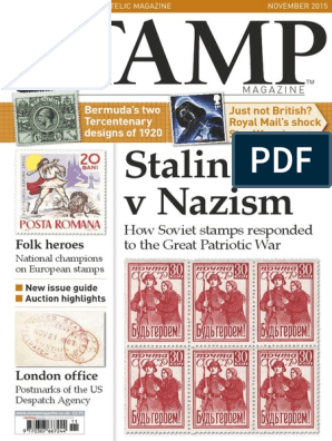 Stamp Magazine - November 2015 | Darth Vader | Luke Skywalker
