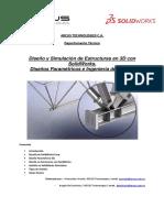 W. URRIUTA, Diseño y Simulación de Estructuras en 3D Con Sol