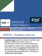 UDP 2015 - Trib II - Clase 05
