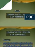 Tema 8 Limitaciones Legales a La Propiedad