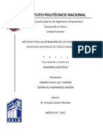 Métodos Para La Estimación de Electrofacies Usando Registros Geofísicos de Pozos Convencionales
