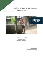 Victoria Vendrell - Efecto Benfico Del Agua de Mar en Ninos Desnutridos[1]
