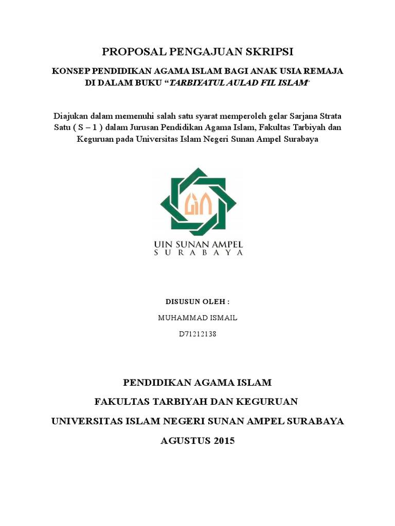 Revisi Proposal Pengajuan Skripsi