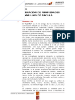 Inf4_determinación de Propiedades Ladrillos de Arcilla