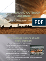 outdoor education weather lecture 5