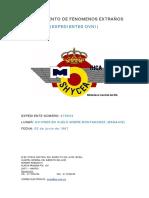 1967-06-03 Avistamiento en Montanchez (Badajoz)