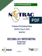 Evaluation of Pole Bonding Methods