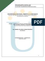 Modulo. 401523. FENOMENOLOGÍA DE LAS REACCIONES QUÍMICAS