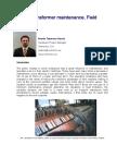 Power Transformer Maintenance and Field Testing