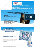 Factores Biologicos de La Criminalidad Diapo
