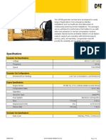 3516B 2000 kVA Prime.