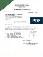 Calendared Cases
