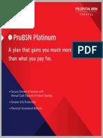 PruBSN Platinum Brochure Eng