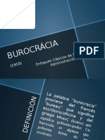 Administración BUROCRÁCIA