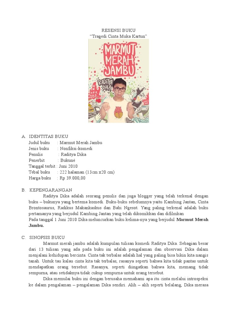Buku Marmut Merah Jambu Full Pdf