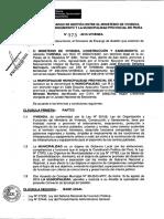 Modelo Convenio de Encargo de Gestión - Compilador José María Pacori Cari
