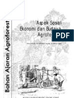 LN0005-04 Bahan Ajar Agroforestry Aspek Sosial Ekonomi Budaya Agroforestry