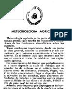 Meteorologia Agrícola