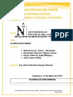 Informe Final de Metalurgia