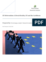 A Brexit Reality EU and the Caribbean