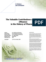 The Valuable Contributions of Al-Razi in the History of Pharmacy