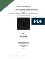 Resume Jurnal Embriologi