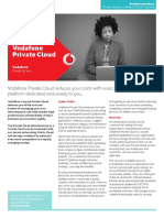VodafoneCloudHosting Private Cloud Product Sheet